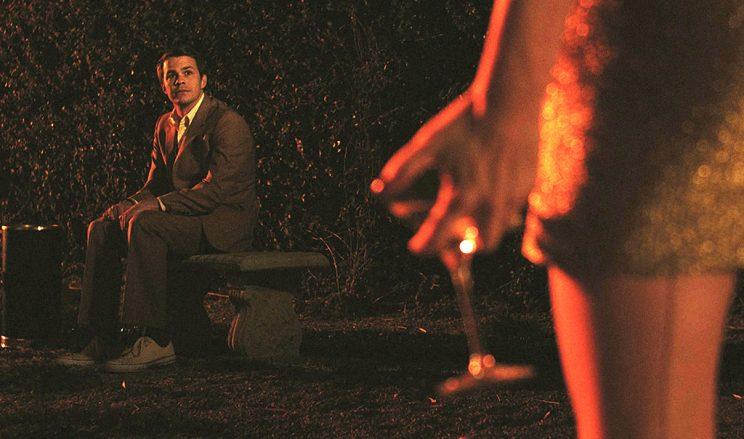 Johnny Simmons in 'Dreamland' (Credit: Beachwood Park Films)