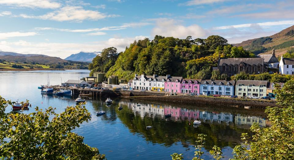 Portree, Isle of Skye, Scotland (Getty)