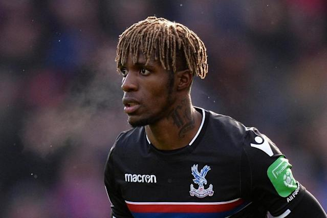 Wilfried Zaha returns to Crystal Palace from Ivory Coast international duty amid injury fears