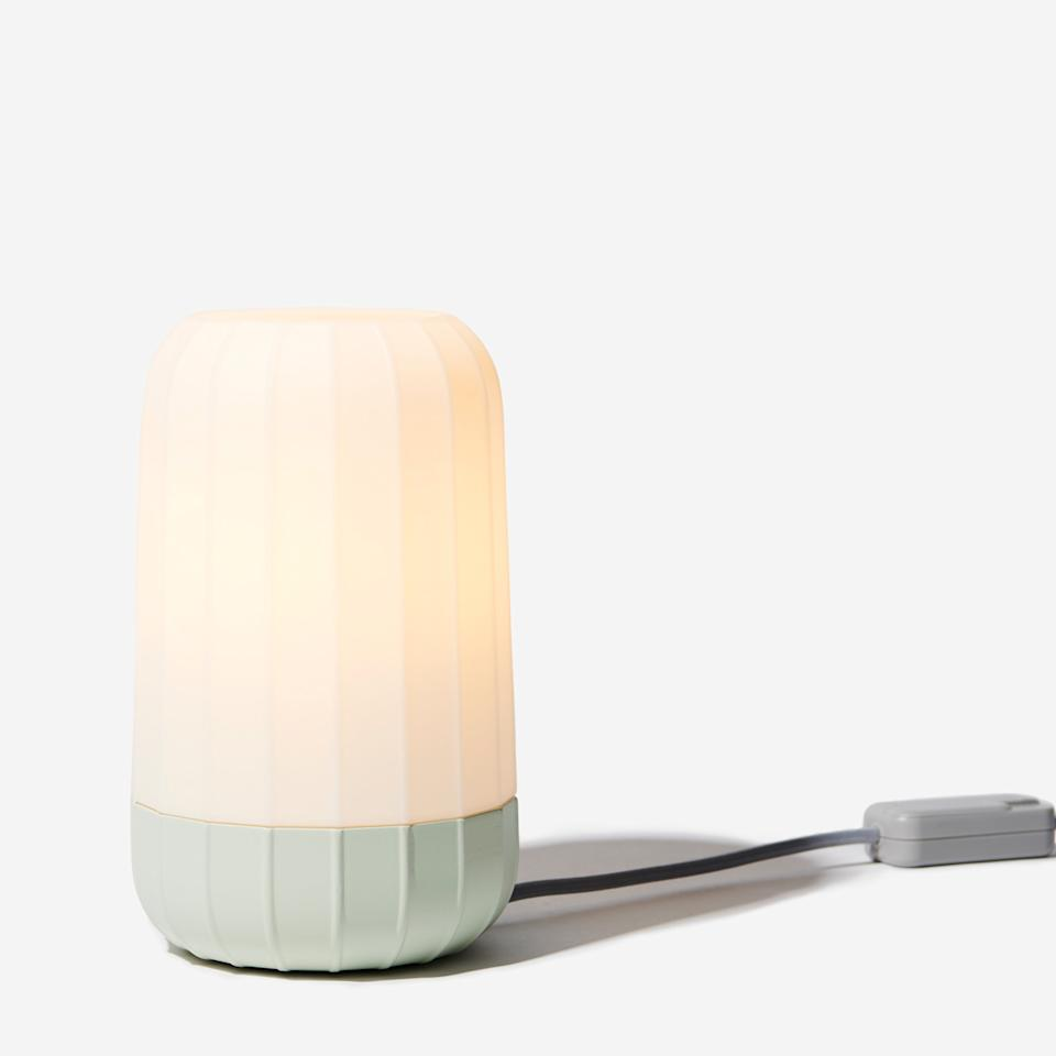 """<h3><a href=""""https://www.gantri.com/products/10044/blimp-table-light-by-chris-granneberg"""" rel=""""nofollow noopener"""" target=""""_blank"""" data-ylk=""""slk:Gantri Blimp Table Light"""" class=""""link rapid-noclick-resp"""">Gantri Blimp Table Light</a> </h3><br><br>While you may not to be able to install full-on dimmer switches into your temporary living digs, you can still create some mood lighting with a table lamp that boasts dimmable capabilities from its cord.<br><br><strong>Chris Granneberg</strong> Blimp Table Light, $, available at <a href=""""https://www.gantri.com/products/10044/blimp-table-light-by-chris-granneberg?s=cm&c=meadow"""" rel=""""nofollow noopener"""" target=""""_blank"""" data-ylk=""""slk:Gantri"""" class=""""link rapid-noclick-resp"""">Gantri</a>"""