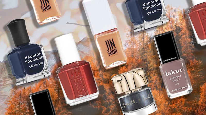 Give Your Neons a Break and Start Wearing These Fall Nail Colors