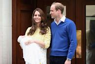 """<p>More celebrations when <a href=""""https://www.townandcountrymag.com/society/tradition/news/a4447/new-photos-princess-charlotte/"""" rel=""""nofollow noopener"""" target=""""_blank"""" data-ylk=""""slk:Princess Charlotte"""" class=""""link rapid-noclick-resp"""">Princess Charlotte</a> is born on May 2. She becomes the fourth in line for the throne. </p>"""