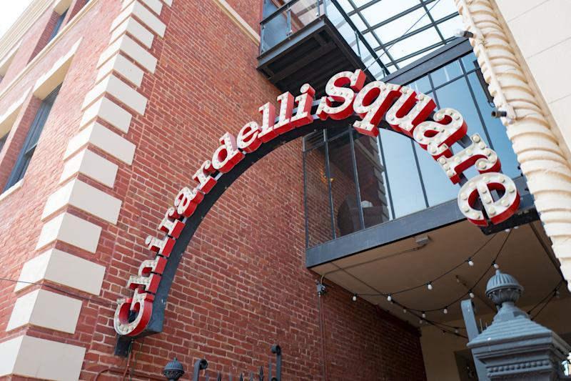 """Although the factory is no longer there,&nbsp;Ghirardelli Square still features a popular <a href=""""https://www.ghirardelli.com/StoreLocations-SanFrancisco-Original"""" target=""""_blank"""" rel=""""noopener noreferrer"""">ice cream and chocolate shop</a> from the brand. Visitors to San Francisco can also tour the <a href=""""https://store.dandelionchocolate.com/pages/experiences"""" target=""""_blank"""" rel=""""noopener noreferrer"""">Dandelion Chocolate factory</a> and sample artisanal chocolates and cocoa treats throughout the city (special shoutout to <a href=""""http://www.fogcitynews.com/home.html"""" target=""""_blank"""" rel=""""noopener noreferrer"""">Fog City News</a>)."""