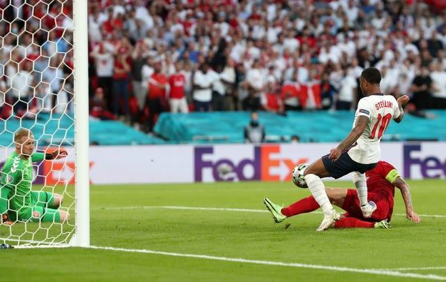 England reacted brilliantly and Simon Kjaer's own goal levelled the scores nine minutes later