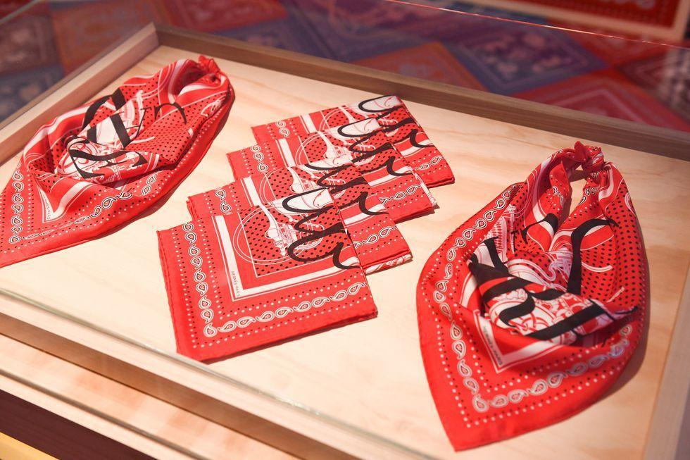 "The ""Carrémania"" boutique will have a capsule collection of scarves that are only available at the pop-up."