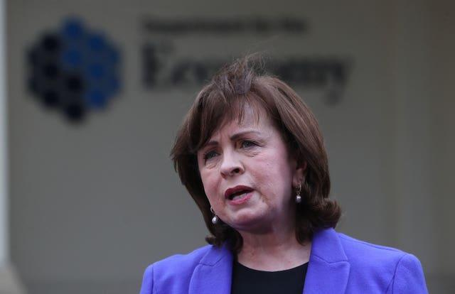 Economy Minister Diane Dodds (Niall Carson/PA)