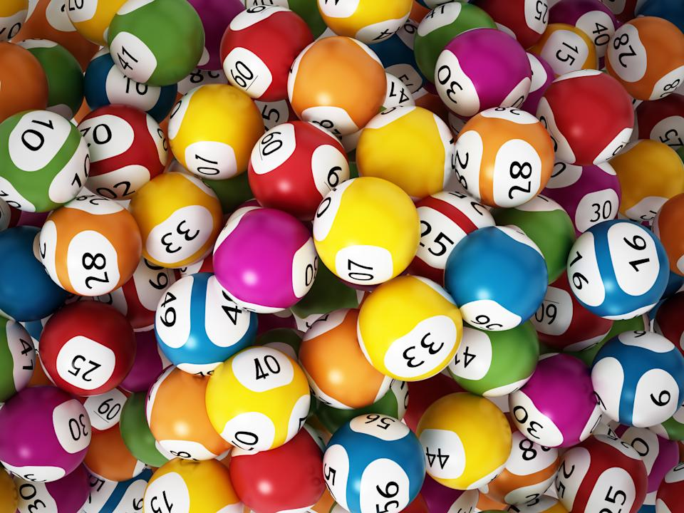 Multi-colored lottery balls. Source: Getty Images