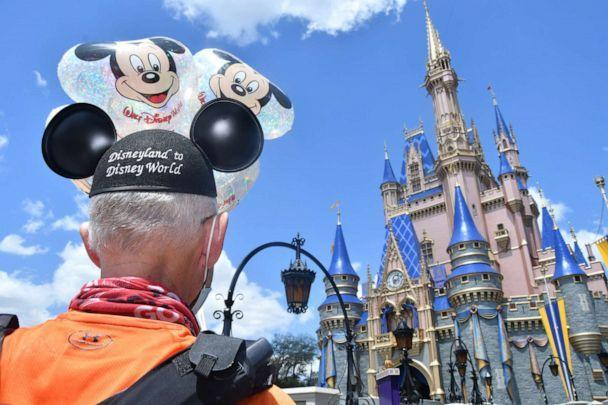 PHOTO: Don Muchow arriving at Disney World. (Don Muchow)