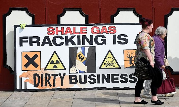 Global emissions of methane have been rising sharply since 2007 with a large slice of that increase comes from the booming shale gas industry in the United States (AFP Photo/Paul Ellis)