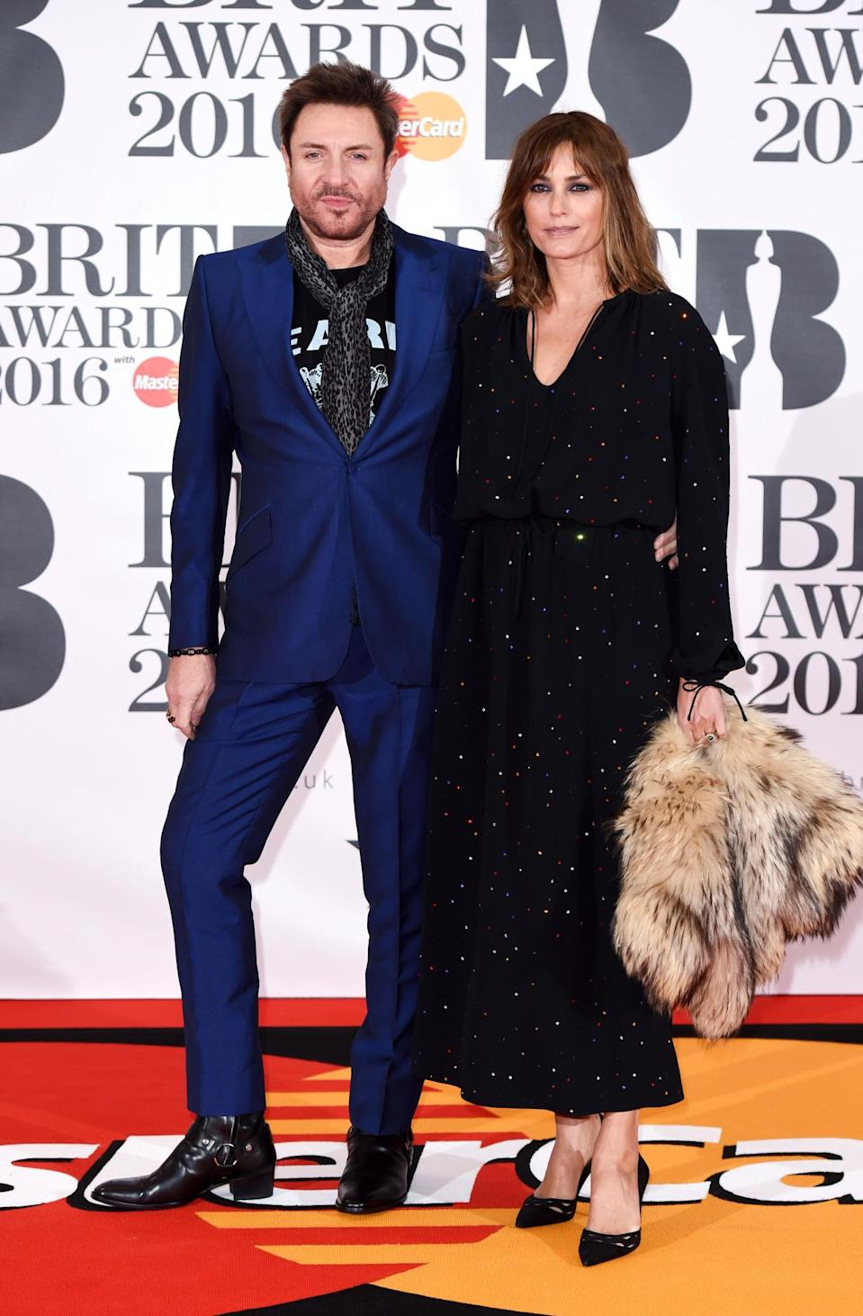 <p>The superstar couple looked as on point as ever in two eye-catching numbers. <i>[Photo: Rex]</i></p>