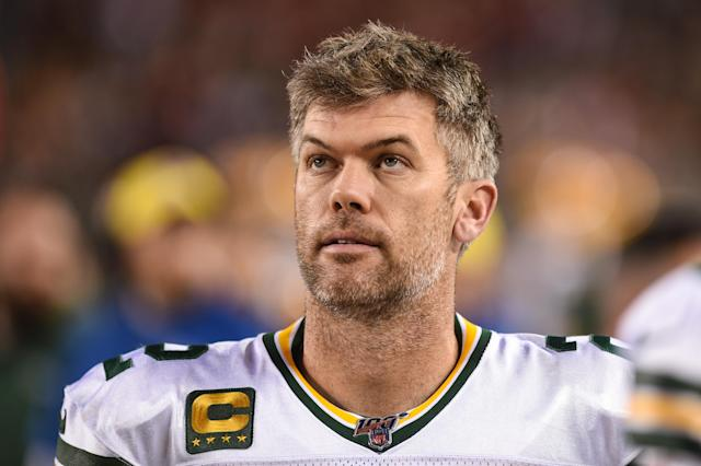 Packers kicker Mason Crosby's sister-in-law died on Friday morning after a lengthy battle with ovarian cancer. She was 30. (Cody Glenn/Icon Sportswire/Getty Images)