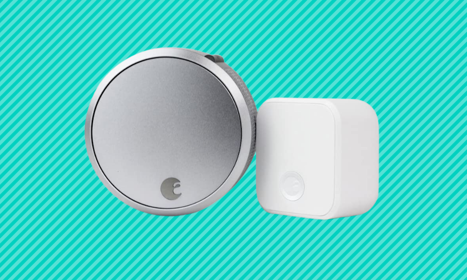 Add a smart lock to your home, and save big. (Photo: Amazon)
