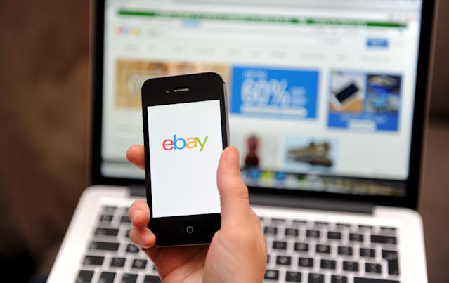 Selling items on eBay is one of the most popular side hustles among young Brits. Photo: Tim Goode/PA Wire/PA Images
