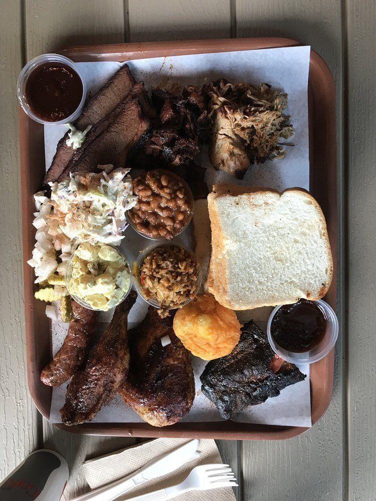 """<p><strong><a href=""""https://www.yelp.com/biz/bad-bettys-bbq-helena"""" rel=""""nofollow noopener"""" target=""""_blank"""" data-ylk=""""slk:Bad Betty's BBQ"""" class=""""link rapid-noclick-resp"""">Bad Betty's BBQ</a>, Helena</strong></p><p>""""Fantastic example of what killer, non-regional BBQ should be. A perfect blend of the best regional styles under one roof."""" – <a href=""""https://www.yelp.com/user_details?userid=erBxWBMzrISOjDANYVMPdg"""" rel=""""nofollow noopener"""" target=""""_blank"""" data-ylk=""""slk:Yelp user Dave M."""" class=""""link rapid-noclick-resp"""">Yelp user Dave M.</a></p><p>Photo: Yelp/<a href=""""https://www.yelp.com/user_details?userid=erBxWBMzrISOjDANYVMPdg"""" rel=""""nofollow noopener"""" target=""""_blank"""" data-ylk=""""slk:Dave M."""" class=""""link rapid-noclick-resp"""">Dave M.</a></p>"""