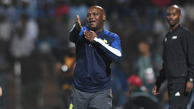 Mamelodi Sundowns coach Mosimane laments lack of fluidity against Highlands Park