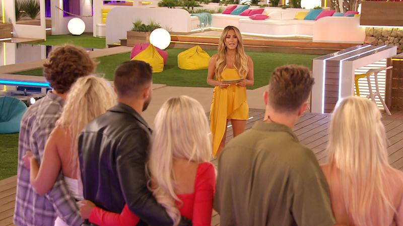 Caroline hosted the first five series of Love Island (Photo: ITV/Shutterstock)
