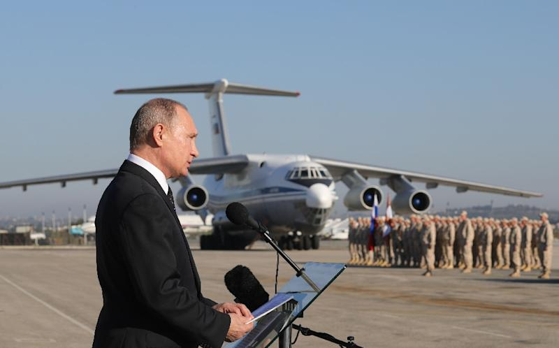 Russian President Vladimir Putin in December announced the partial withdrawal of his forces from Syria in December