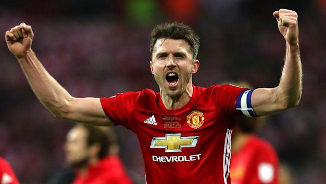 <p>Just as with Rooney, it was Louis van Gaal who took the decision to hand Michael Carrick a leading role, making him United's vice-captain when he took over in the summer of 2014.</p> <br><p>Carrick is not a vocal skipper, rather leading by example, but has 'been there and done it' in almost every sense since joining the club back in 2006. He captained United in the EFL Cup final this year and jointly lifted the trophy with Rooney.</p>