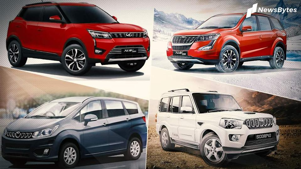 Attractive offers on Mahindra four-wheelers in January 2021