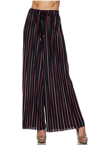 """<span class=""""caption"""">Made By Johnny Women's Premium Pleated Maxi Wide Leg Palazzo Pants</span> <span class=""""credit"""">Amazon</span>"""