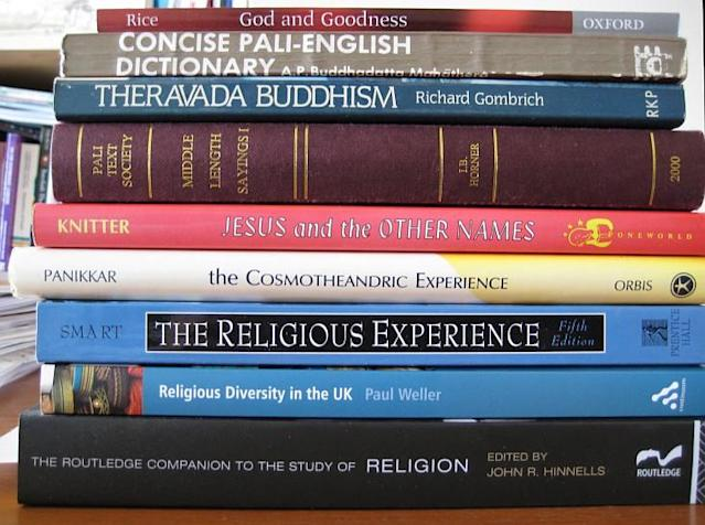"""<p><b>No. 5: Religious studies</b><br>Starting salary: $38,300<br> Mid-career salary: $62,100<br> If you're spiritually inclined, """"consider majoring in philosophy instead,"""" says Kiplinger. """"A hefty 2.1 million online job postings over the past year sought out candidates who had studied philosophy. And that demand results in higher pay potential: Philosophy majors report a median starting salary of $44,800 a year and mid-career salary of $85,100 a year.""""<br> (Flickr / Creative Commons) </p>"""
