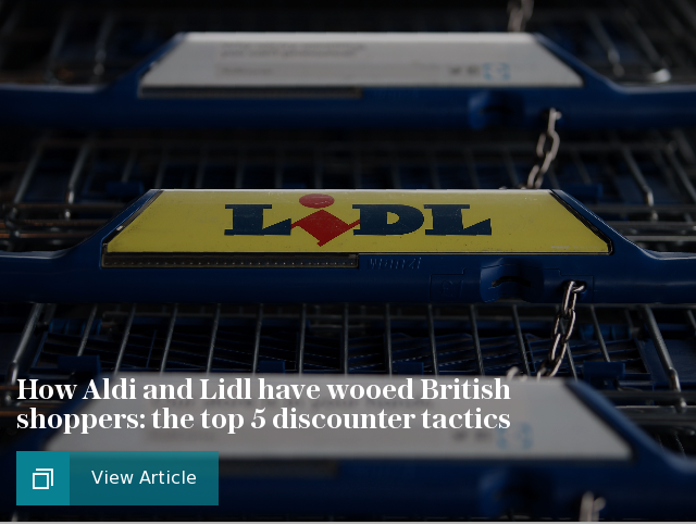 How Aldi and Lidl have wooed British shoppers: the top 5 discounter tactics