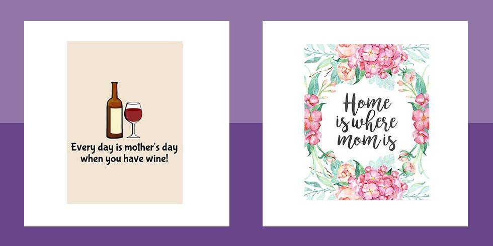 "<p>We've all been there. You get your dates confused or get caught up in the daily hustle, and, before you know it, <a href=""https://www.womansday.com/content/mothers-day/"" target=""_blank"">Mother's Day</a> has arrived and you don't have a <a href=""https://www.womansday.com/relationships/family-friends/g1123/cheap-mothers-day-gifts/"" target=""_blank"">gift</a> or even a <a href=""https://www.womansday.com/life/g26960407/funny-mothers-day-cards/"" target=""_blank"">card</a>. Now you need to leave for <a href=""https://www.womansday.com/food-recipes/g2237/brunch-recipes/"" target=""_blank"">Mother's Day brunch</a> and don't have time to stop at the store.  Don't panic. You can find a number of free printable Mother's Day cards online - all you have to do is print, cut, fold, and <a href=""http://www.womansday.com/relationships/family-friends/advice/a50421/what-to-write-in-a-mothers-day-card/"" target=""_blank"">write a heartfelt message</a> thanking Mom for all she's done for you. She'll never guess you waited until the last minute this year!</p>"