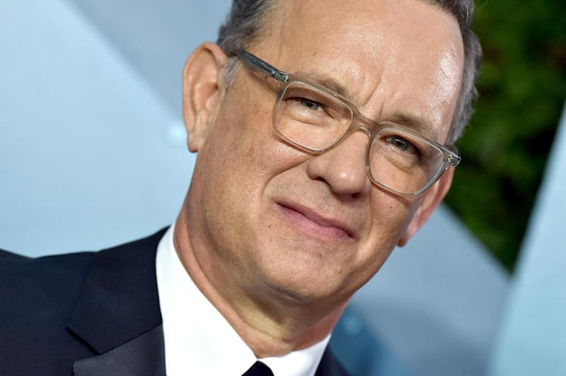 Tom Hanks gave a virtual commencement speech for Ohio's Wright State University. (Photo: Axelle/Bauer-Griffin/FilmMagic)