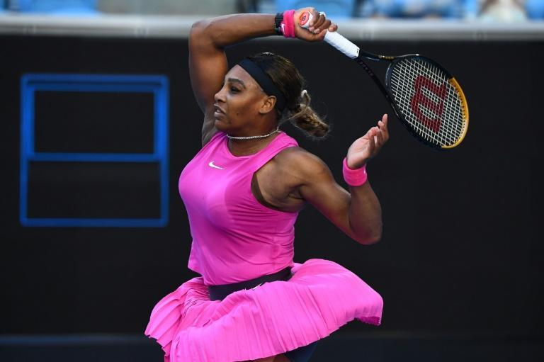Serena Williams won in straight sets on Wednesday