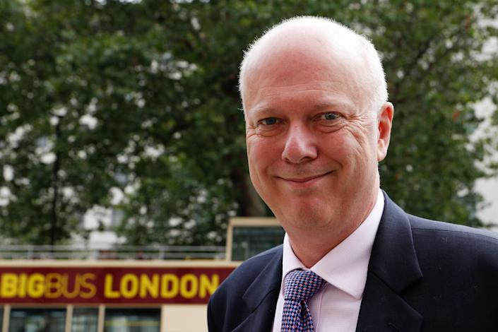 Chris Grayling missed out on a Cabinet position despite being Boris Johnson's ally - but had been put forward for ISC chair (AFP/Getty Images)