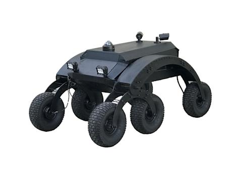 NXT Robotics Unveils Rugged All-Terrain, All-Weather Outdoor Security Robot at West 2017