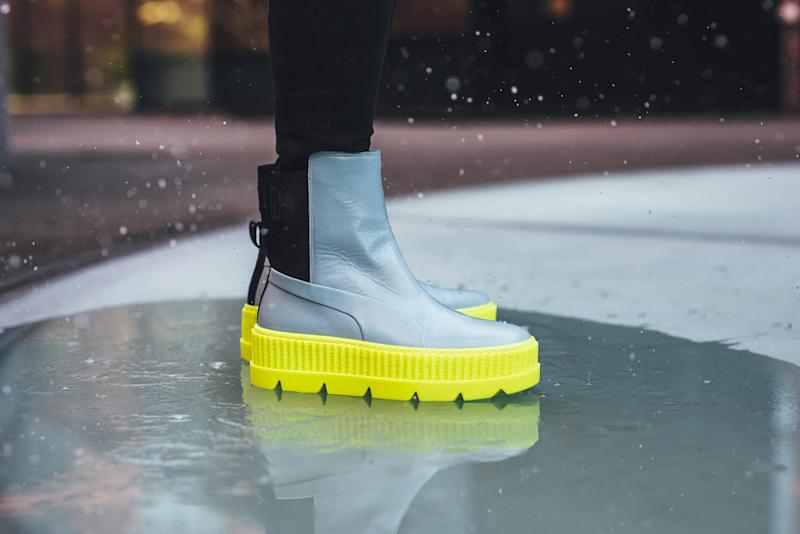 quality design 237e8 fd54b Rihanna and Puma Turn the Fenty Creeper Into a Chelsea Boot ...