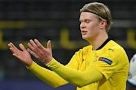 Erling Braut Haaland has scored 17 goals this season for Borussia Dortmund, who face struggling Cologne on Saturday