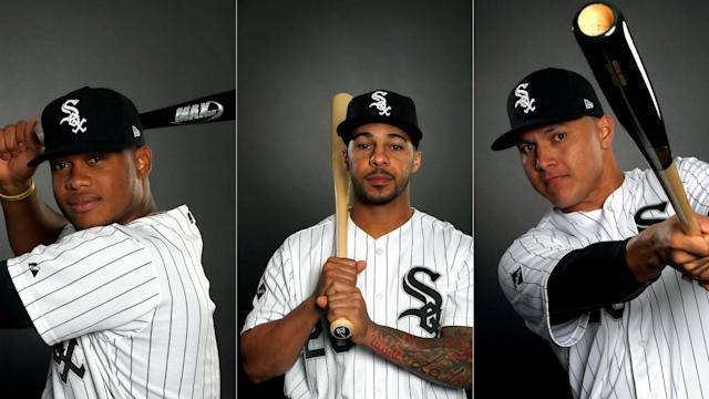 Avisail, Willy and Leury Garcia will start in right, center and left field respectively.