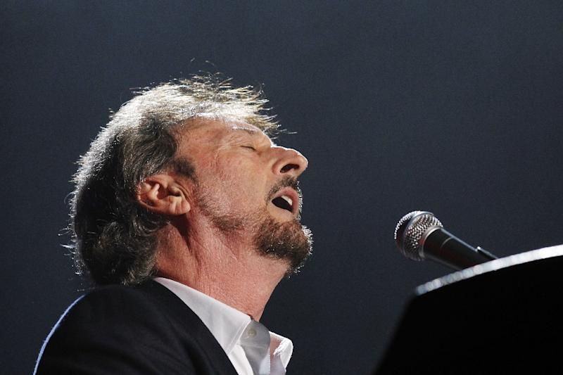 "Supertramp's Rick Davies, pictured here on October 18, 2010, is undergoing ""aggressive"" cancer treatment which caused the band to cancel its European tour due to start this November"