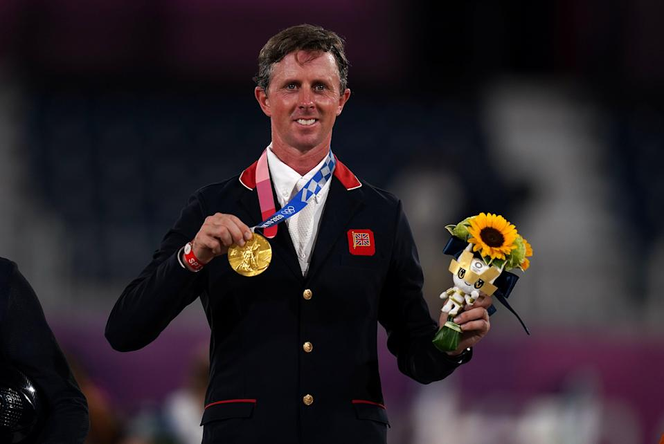 Great Britain's Ben Maher won individual showjumping gold at Tokyo Equestrian Park (Adam Davy/PA) (PA Wire)