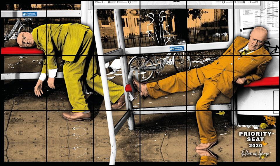 PRIORITY SEAT 2020Gilbert and George