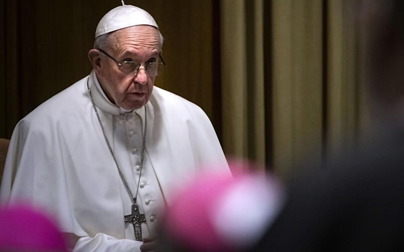The Pope called the summit of 190 Catholic Church leaders to combat the ongoing clergy sexual abuse scandal involving minors - UPI / Barcroft Media