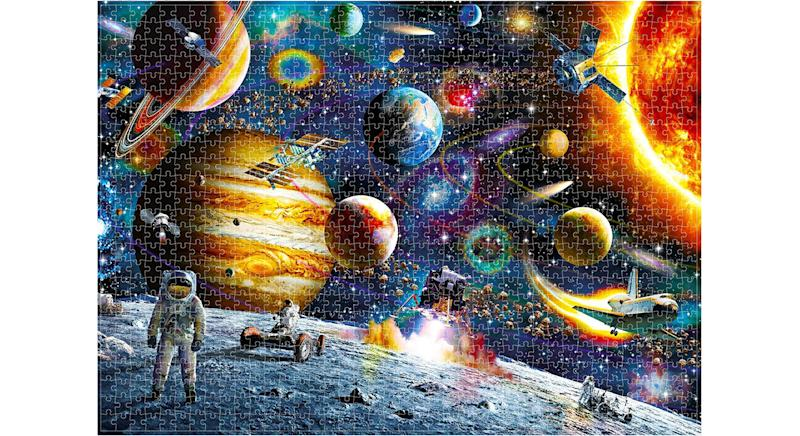 Space Puzzle Jigsaw Puzzle, 1000 Pieces