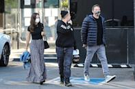 <p>Ben Affleck and Ana de Armas are seen jewelry shopping with a friend at XIV Karats Ltd in Beverly Hills on Wednesday.</p>