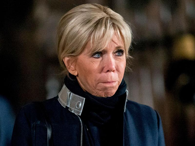 brigitte macron s engage contre le harc lement scolaire son mouvant t moignage. Black Bedroom Furniture Sets. Home Design Ideas
