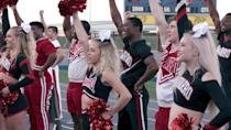 """<p>""""Perhaps you're telling yourself that cheerleading isn't interesting—and I'm here to tell you that you're mistaken,"""" <em>Glamour</em> contributor Abby Gardner wrote <a href=""""https://www.glamour.com/story/cheer-netflix-review?mbid=synd_yahoo_rss"""" rel=""""nofollow noopener"""" target=""""_blank"""" data-ylk=""""slk:in her review of the Netflix reality series"""" class=""""link rapid-noclick-resp"""">in her review of the Netflix reality series</a> about the world of competitive cheerleading at a small junior college in Texas. """"Even if you've never tumbled, done a herky, or stood atop a pyramid, this show is utterly fascinating."""" </p> <p><a href=""""https://www.netflix.com/title/81039393"""" rel=""""nofollow noopener"""" target=""""_blank"""" data-ylk=""""slk:Available to stream on Netflix"""" class=""""link rapid-noclick-resp""""><em>Available to stream on Netflix</em></a></p>"""
