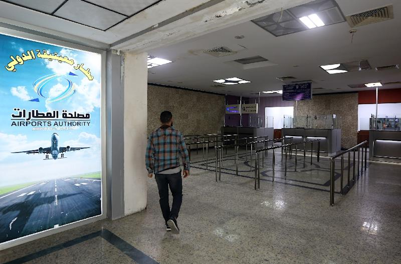 Mitiga International airport was closed to daytime flights after an air strike on April 8