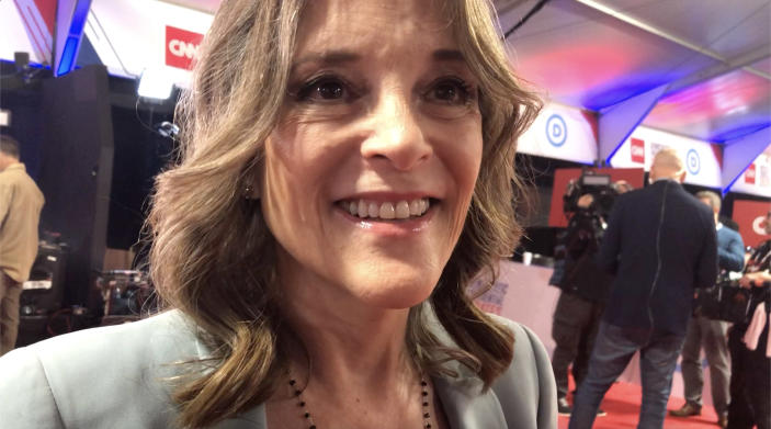 Democratic presidential candidate Marianne Williamson (Photo: Hunter Walker/Yahoo News)
