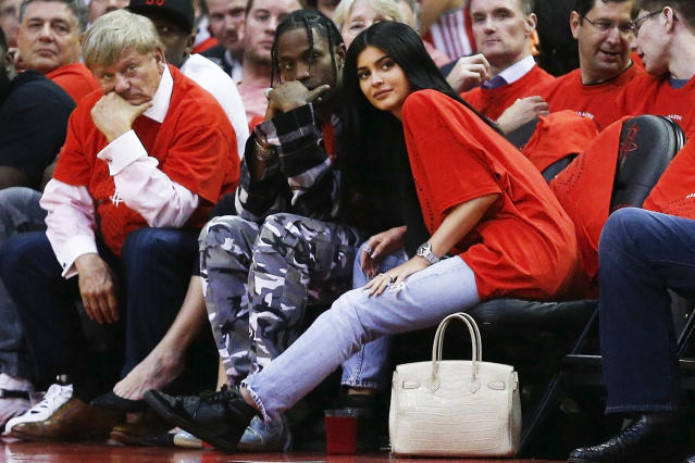 Are Kylie Jenner and Travis Scott expecting a baby? (Photo: Bob Levey/Getty Images)