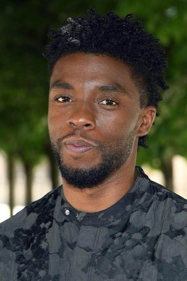 Chadwick Boseman (Photo by Dominique Charriau/Getty Images for Les Chatons D'Or 2018)
