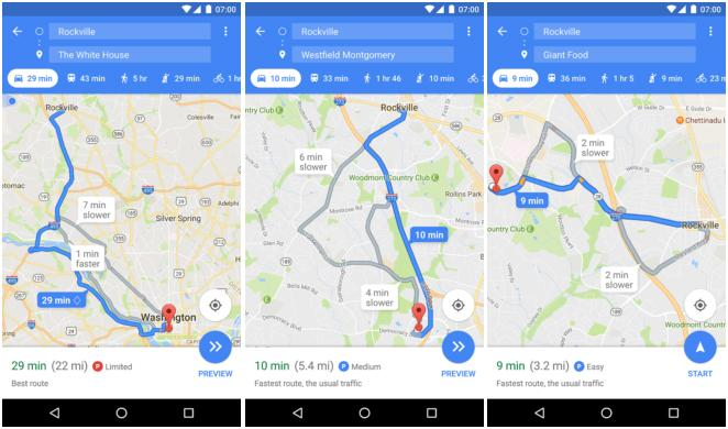 Google Maps will soon show parking availability at public locations
