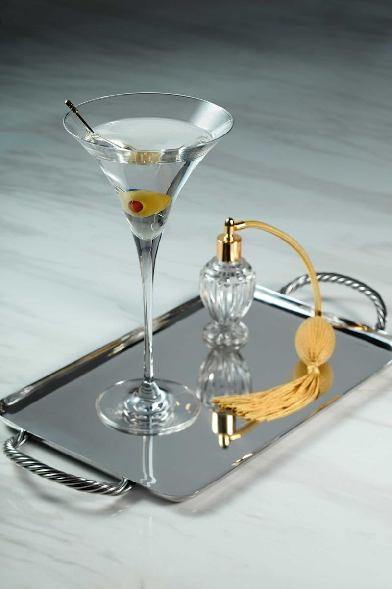 The Mayfair Supper Club's classic Martini at Bellagio served with a choice of olives, twist or onion.