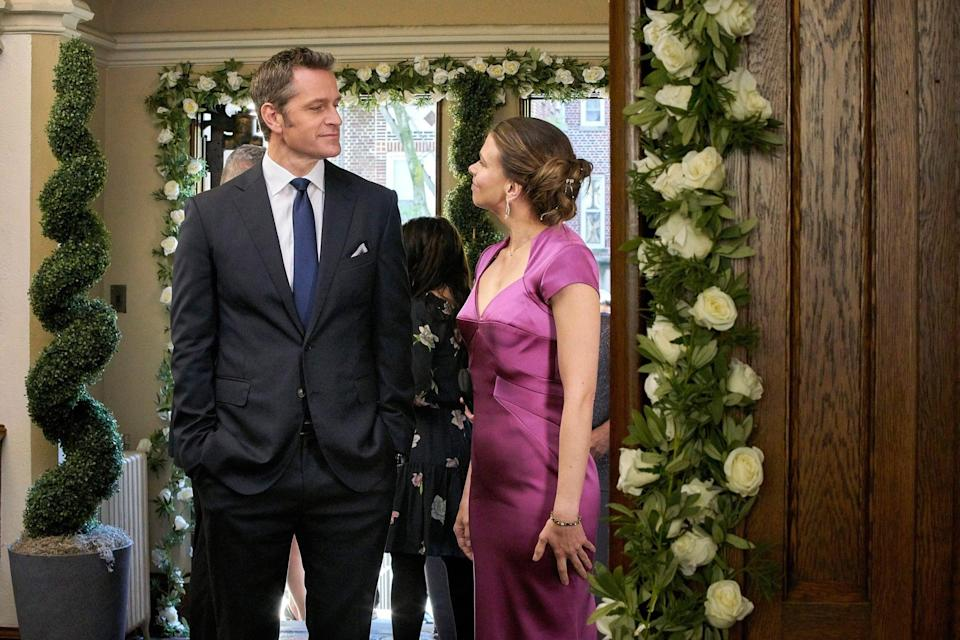 YOUNGER, from left: Peter Hermann, Sutton Foster, 'Forever', (Season 6, ep. 612, aired Sept. 4, 2019). photo: TV Land / courtesy Everett Collection