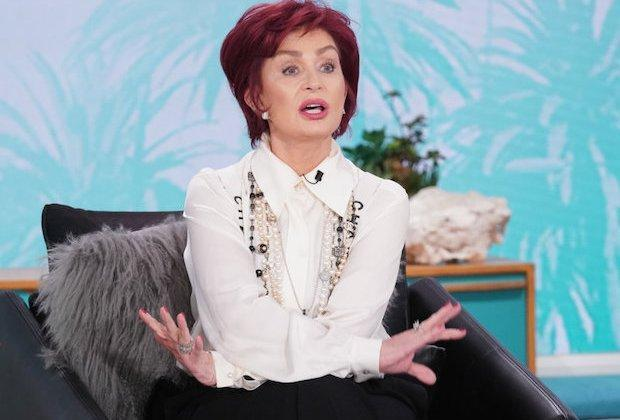 Sharon Osbourne Out At The Talk